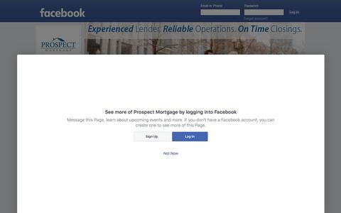 Prospect Mortgage | Facebook