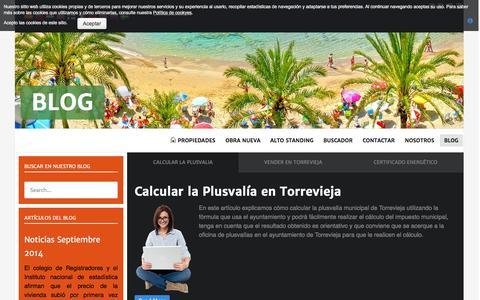 Screenshot of Blog agrucasa.es - Blog - captured Feb. 3, 2016