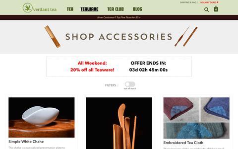 Accessories | Verdant Tea