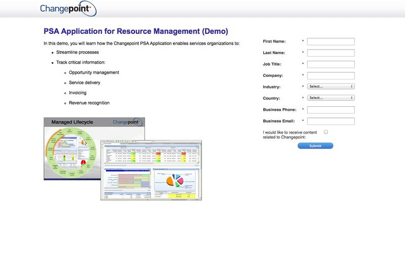 PSA Software for Resource Management (Demo)