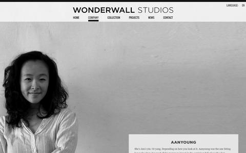Screenshot of Team Page wonderwallstudios.com - The Team - Wonderwall Studios - captured Nov. 26, 2015