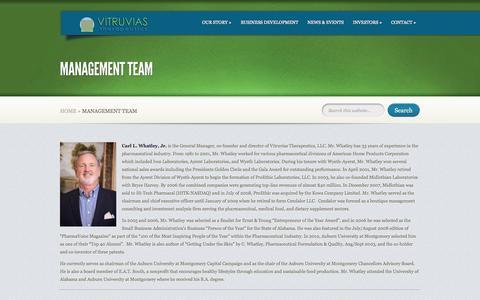 Screenshot of Team Page vitruvias.com - Management Team | Vitruvias - captured Nov. 5, 2014