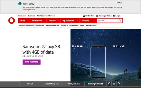 Mobile phone deals, SIM only and broadband offers | Vodafone