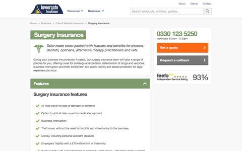Surgery Insurance   Towergate Insurance