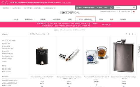 Bar & Glassware Gifts | Davids Bridal