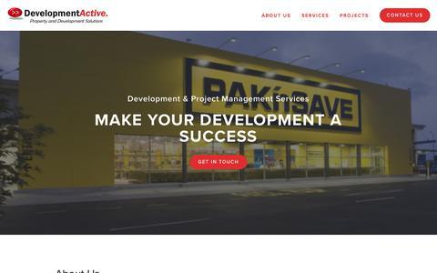 Screenshot of About Page developmentactive.com - About Us — Development Active - captured Nov. 14, 2018