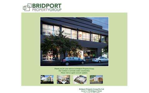 Screenshot of Home Page bridportproperty.com - Bridport Property - captured Oct. 5, 2014