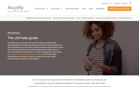 Microlearning: The ultimate guide | Axonify