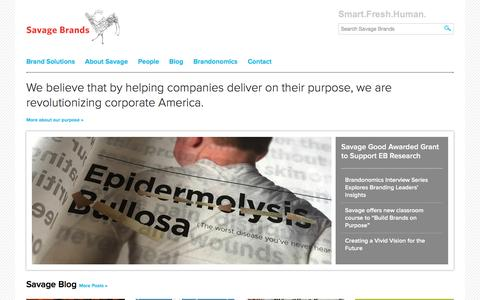 Branding Agency   Savage Brands