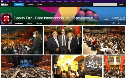 Screenshot of Flickr Page flickr.com - Flickr: Beauty Fair - Feira Internacional de Cosméticos e's Photostream - captured Oct. 30, 2014