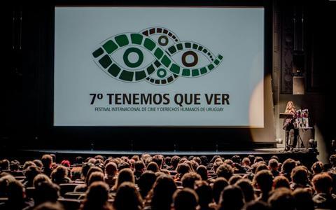 Screenshot of Home Page tenemosquever.org.uy - Tenemos Que Ver – Festival Internacional de Cine y Derechos Humanos de Uruguay - captured Oct. 10, 2018