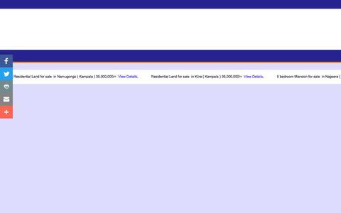 Screenshot of Services Page zande.co.ug - .:: ZANDE PROPERTIES LTD ::. - captured Oct. 18, 2017