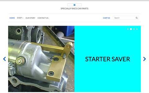 Screenshot of Home Page hawkmachine.com - Hawk Machine Co. - captured June 29, 2018