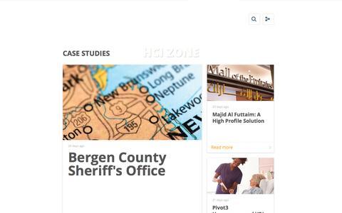 Screenshot of Case Studies Page pivot3.com - Case Studies - captured May 9, 2017