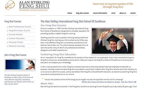 Screenshot of About Page feng-shui-school.com - Feng Shui Master Teachers - captured June 13, 2016
