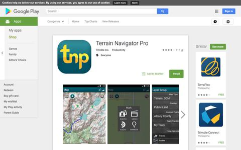 Terrain Navigator Pro - Android Apps on Google Play
