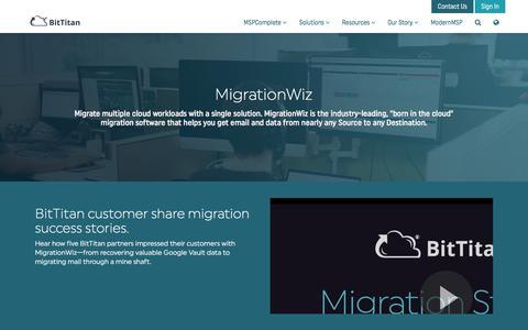 MigrationWiz - BitTitan