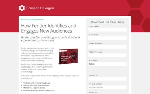 Screenshot of Landing Page crimsonhexagon.com - Fender Audience Analysis Case Study - captured March 6, 2018