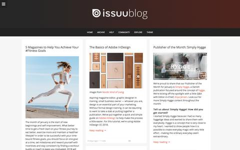 issuu blog