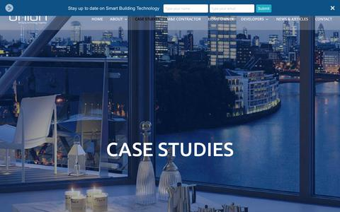 Screenshot of Case Studies Page unionsystems.co.uk - Case studies - Union Systems - captured Oct. 19, 2017