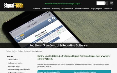 RedStorm Sign Control & Reporting Software | Signal-Tech