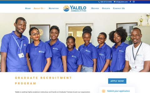Screenshot of Jobs Page yalelo.com - Careers   Yalelo - captured Dec. 9, 2018