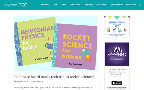 Geeky Baby Gifts Archives | Cool Mom Tech