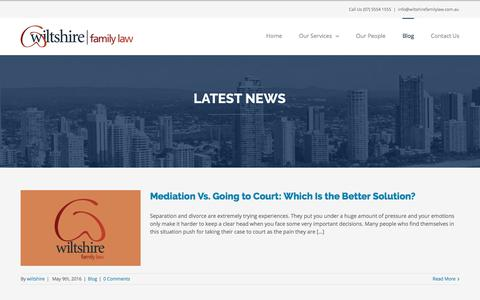 Screenshot of Blog wiltshirelawyers.com.au - Charity and Events | Wiltshire Community Support - captured Oct. 21, 2017