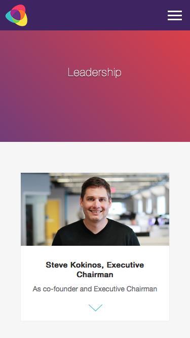 Screenshot of Team Page  fuze.com - Leadership | Fuze