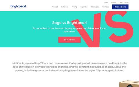 Sage vs Brightpearl | Brightpearl - Brightpearl