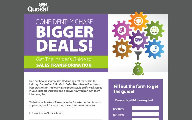 Get The Insider's Guide to Sales Transformation