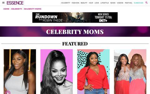 Celebrity Moms | Essence.com