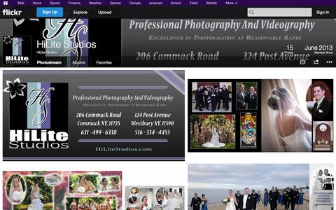 Screenshot of Flickr Page flickr.com - Flickr: HiLite Studios' Photostream - captured Oct. 23, 2014