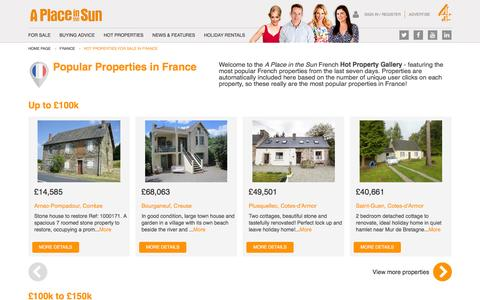 Hot Properties for Sale in France