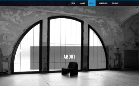 Screenshot of About Page photogressee.be - over Sarah Coenen en visie - photogressee. - fotografie Sarah Coenen - captured Dec. 9, 2015