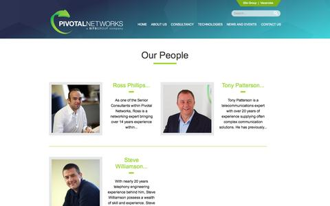 Screenshot of pivotalnetworks.co.uk - Our People | Pivotal Networks - captured Sept. 27, 2015