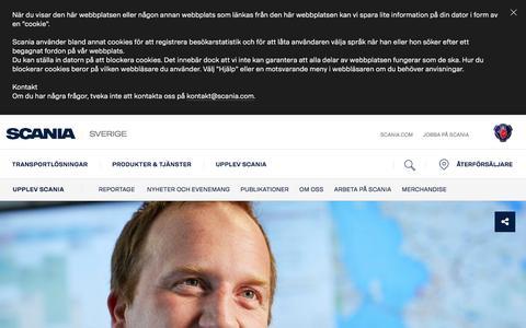 Screenshot of Contact Page scania.com - Kontakta oss | Scania Sverige - captured Jan. 2, 2017