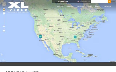 Screenshot of Contact Page xlvideo.us.com captured Sept. 17, 2014