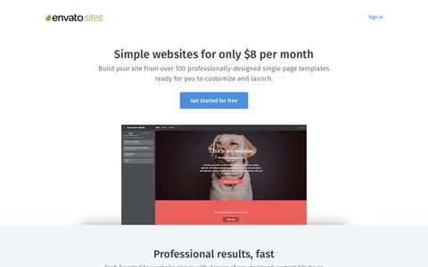 Website Builder by Envato - Envato Sites