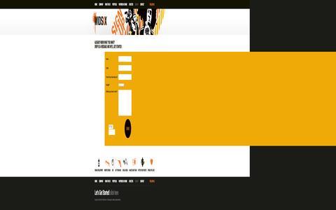 Screenshot of Signup Page widsix.com - WIDSIX Sign Up   Custom Web Design   Athlete Sponsorship   Logo Design Service   Call WIDSIX at 888-WIDSIXX - captured Oct. 26, 2014