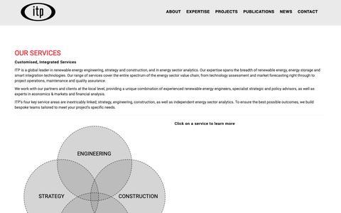 Screenshot of Services Page itpau.com.au - Services – ITPower Australia - captured Oct. 11, 2018