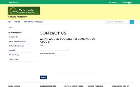 Screenshot of Contact Page landsend.com - Email Us | Contact Lands' End Business Outfitters | Lands' End Business Outfitters - captured April 20, 2016