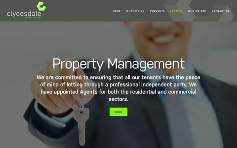 Screenshot of Team Page clydesdale-estates.co.uk - Property management Southampton – Clydesdale - captured Jan. 29, 2016