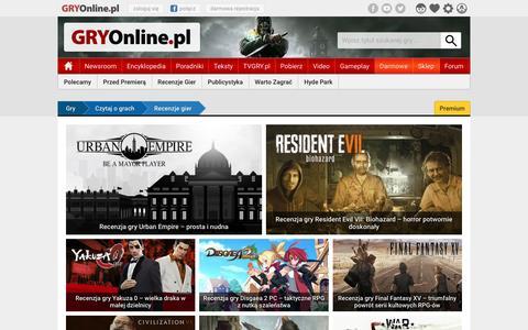 Recenzje gier | GRYOnline.pl