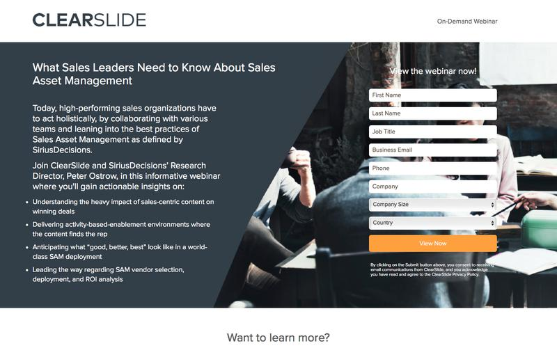 What Sales Leaders Need to Know About Sales Asset Management