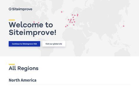 Siteimprove - Welcome to Siteimprove
