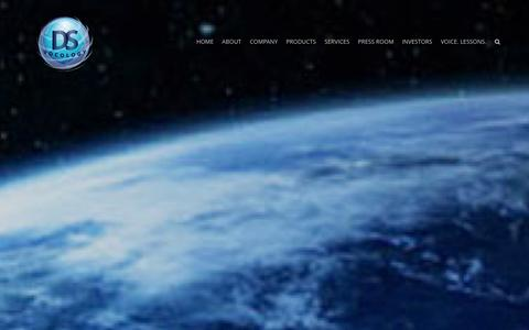 Screenshot of Home Page dsvocology.com - DS VOCOLOGY - captured Oct. 5, 2014