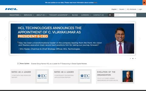 HCL Technologies: Software, Technical & Global Core IT Solution Providers