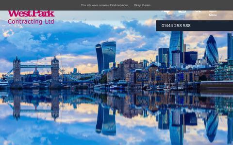 Screenshot of Press Page westparkltd.co.uk - News - Westpark - captured Oct. 18, 2018