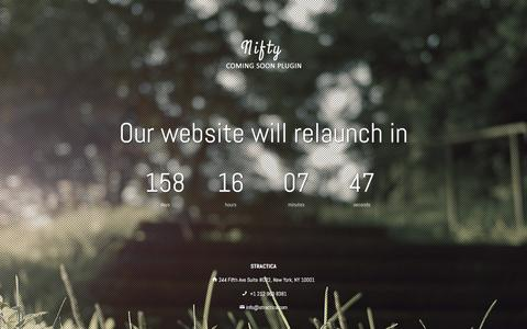 Screenshot of Home Page stractica.com - STRACTICA - captured May 26, 2017
